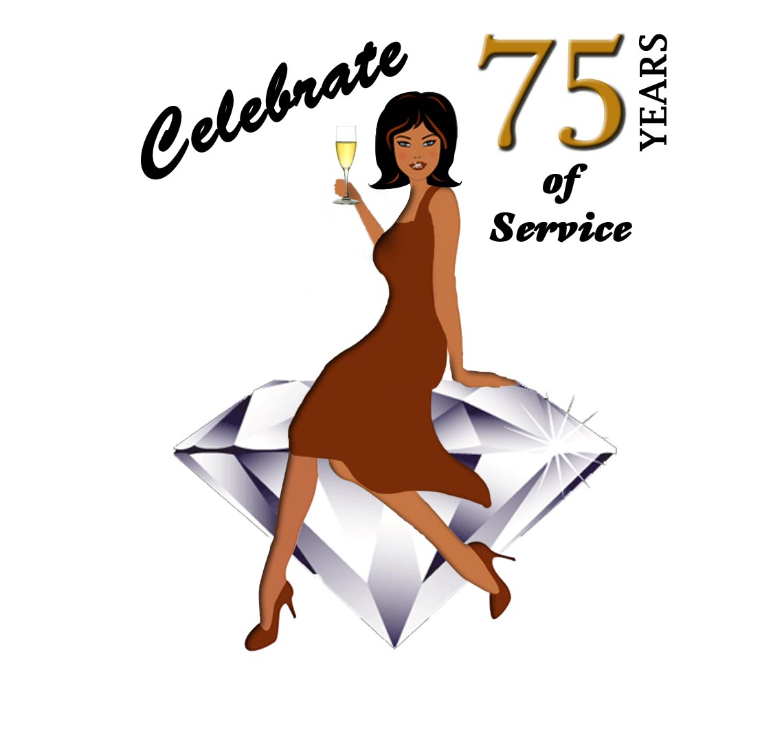 75th Anniversary Fundrasier Logo